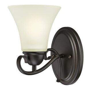 Charlton Home Metz 1-Light Bath Sconce