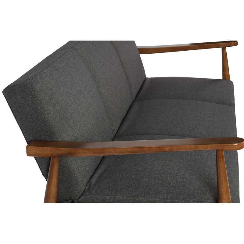 Stupendous Julia Mid Century Modern Convertible Sofa Dailytribune Chair Design For Home Dailytribuneorg