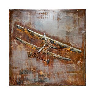 Antique Airplane Wall Decor