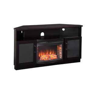60 TV Stand with Fireplace by Furnitech