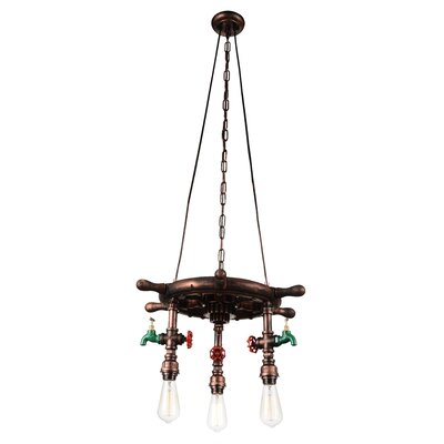 Breakwater Bay Mekhi 3-Light Novelty Chandelier
