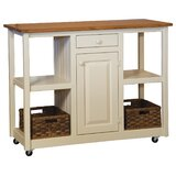 Rutha Kitchen Cart by August Grove®