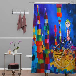 Robin Egg Blue Shower Curtain