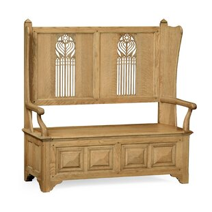 Settle With Storage by Jonathan Charles Fine Furniture Find