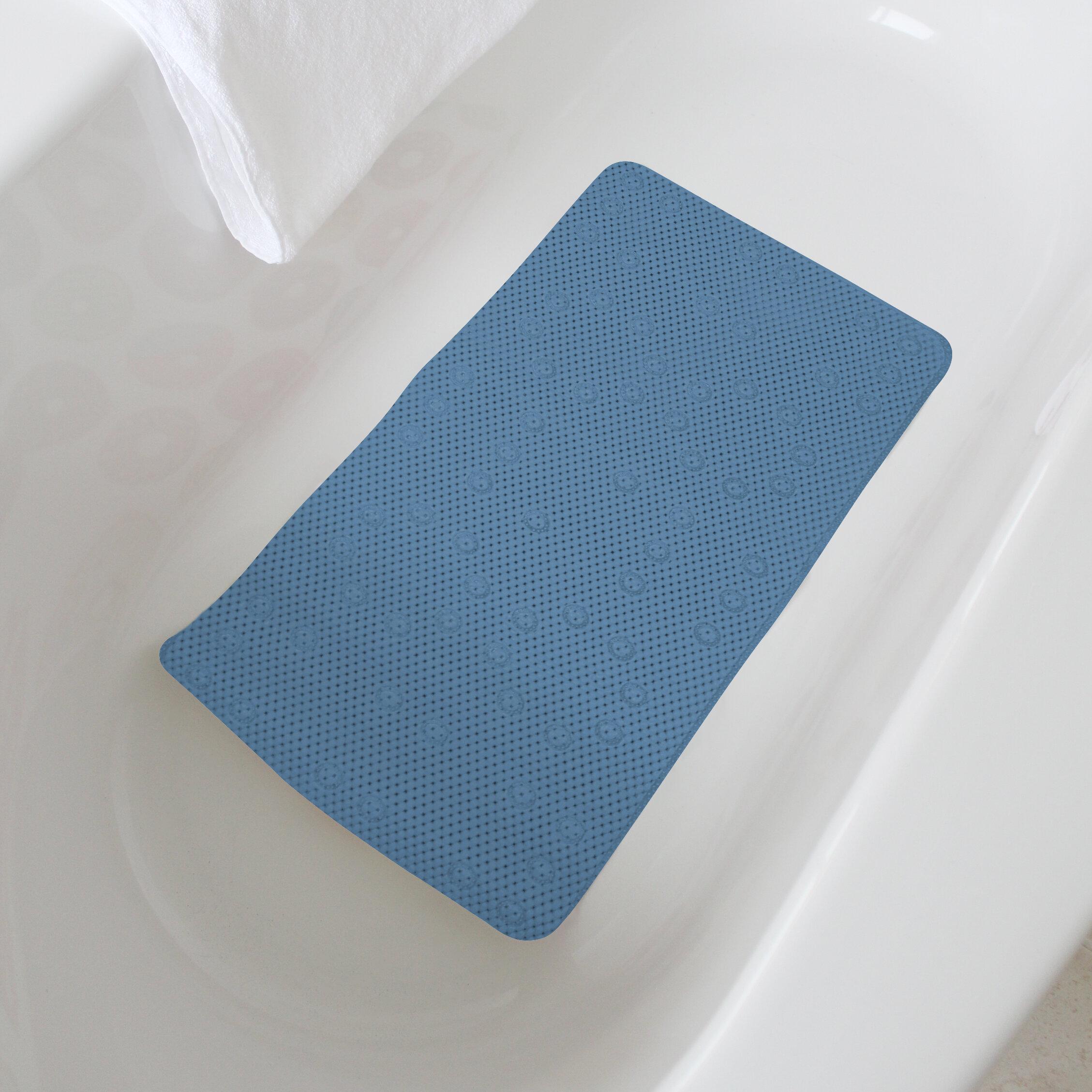 BATH SHOWER MAT BATHROOM NON SLIP FLEXIBLE PVC MATS SHOWER ROOM PREVENTS SLIP