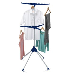 Iron Tidy 6 Arm Indoor Airer Free Standing Drying Rack