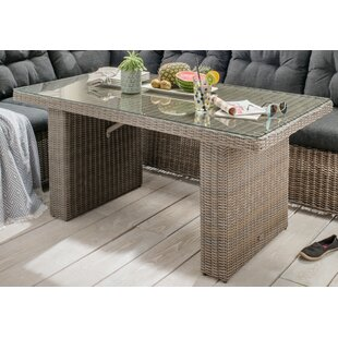 Bunche Rattan Dining Table Image