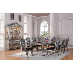 Wensley Traditional 9 Piece Extendable Dining Set by Astoria Grand