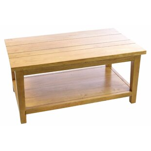 Gracie Solid Wood Coffee Table By Natur Pur