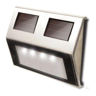 Maxsa Innovations Decorative Solar 4-Light Deck Light (Set of 4)