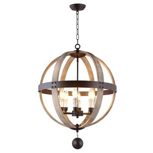 Y Decor 6-Light Globe Chandeli..