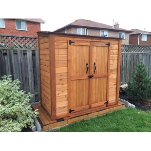 Outdoor Living Today Grand Garden Chalet 6 Ft W X 3 D Solid Wood Lean To Tool Shed