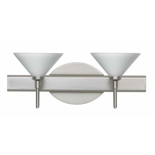Besa Lighting Kona 2-Light Vanity Light
