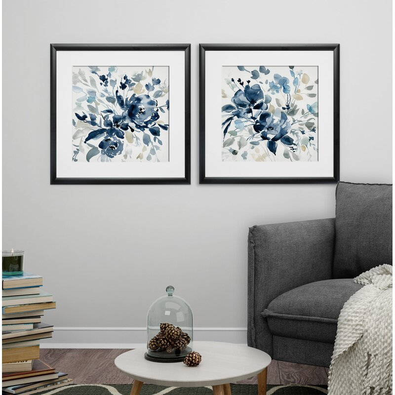Darby Home Co Ocean Eye I 2 Piece Picture Frame Print Set On Paper Birch Lane