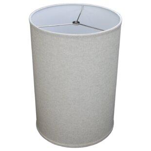 12 Linen Drum Lamp Shade