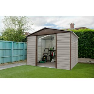 Apex 10 Ft. W X 8 Ft. D Metal Garden Shed By YardMaster