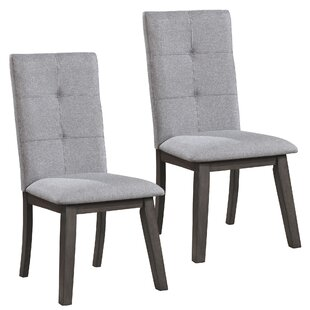 Rhoads Upholstered Dining Chair (Set of 2) Latitude Run