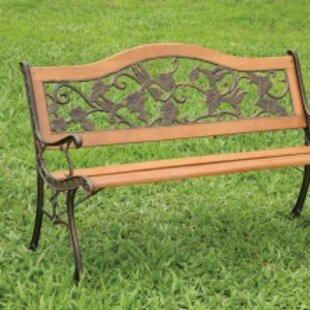 Mcelwain Wooden Garden Bench