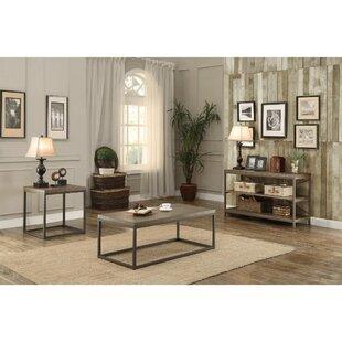 Gracie Oaks Islip 3 Piece Coffee Table Set