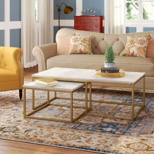 Foundry Select Brookby Place 2 Piece Coffee Table Set