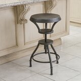 Baulch Swivel  Adjustable Height Bar Stool by Williston Forge