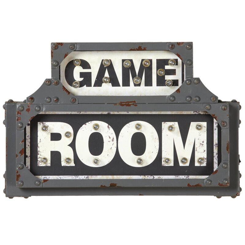 Game Room Wall Decorations - Game Room Wall Décor