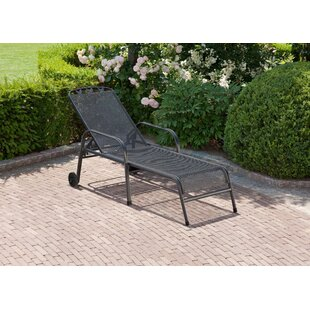 Tolentino Reclining Sun Lounger By 17 Stories