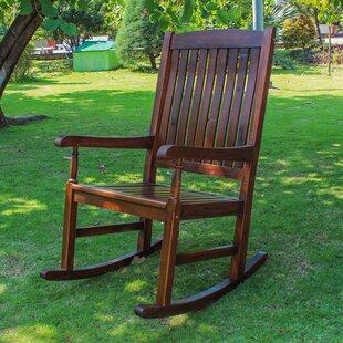 Beachcrest Home Pine Hills Rocking Chair