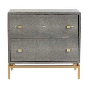 Find for Caleb 2 Drawer Nightstand by Mercer41