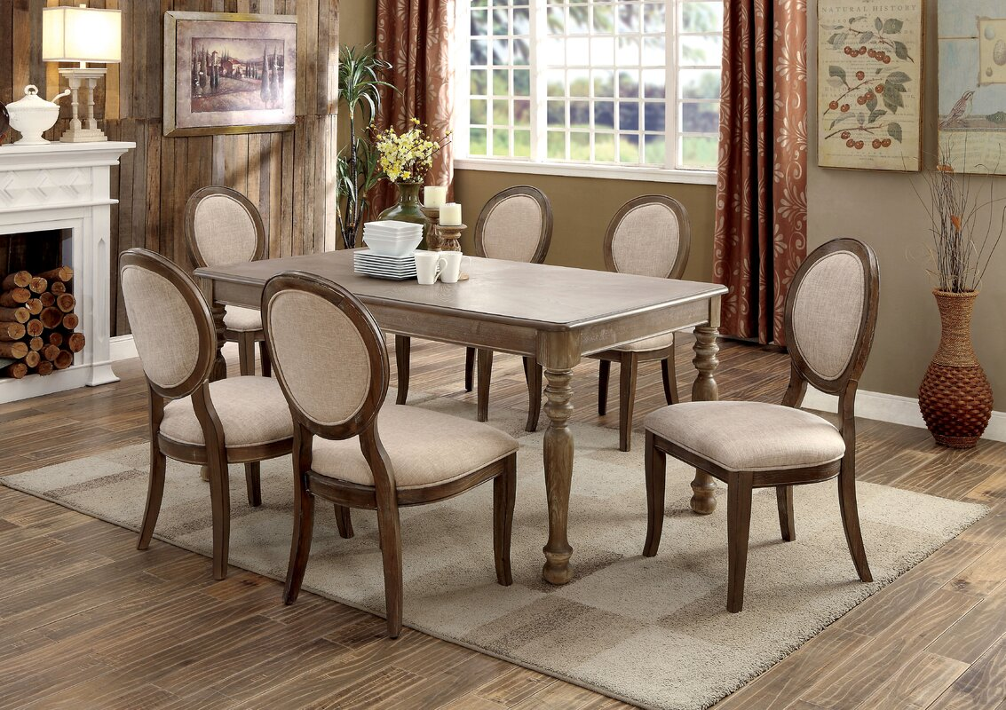 One Allium Way Bloomingdale Transitional Dining Table & Reviews ...