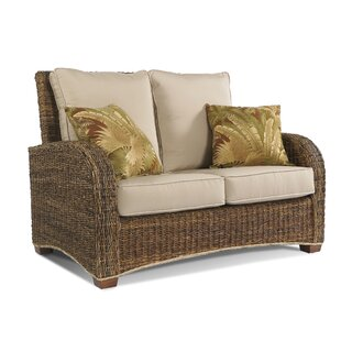 Decastro 59 Round Arm Loveseat by Bay Isle Home