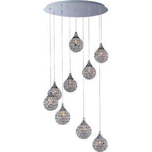 Willa Arlo Interiors Devereaux 9-Light Pendant