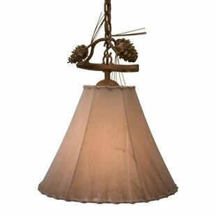 Steel Partners Ponderosa Pine 1-Light Con..