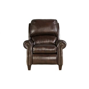 Darby Home Co Lorraine Leather Recliner