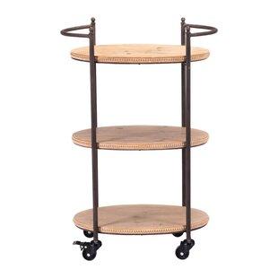 Mistana Julianne Tri Level Bar Cart