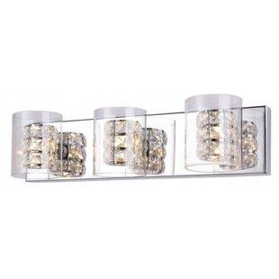 Affordable Mcdonagh 3-Light Vanity Light By House of Hampton