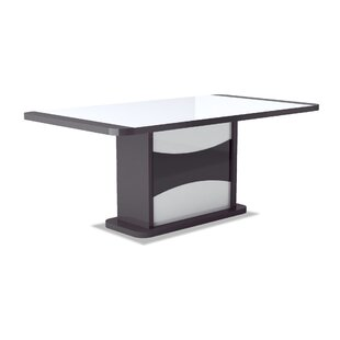 Vannatter Extendable Dining Table By Wade Logan