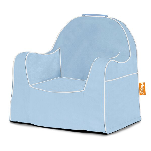 Pu0027kolino Little Reader Personalized Kids Foam Chair With Storage  Compartment U0026 Reviews   Wayfair