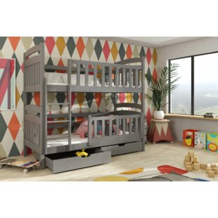 Landers Bunk Bed With Drawer By Harriet Bee