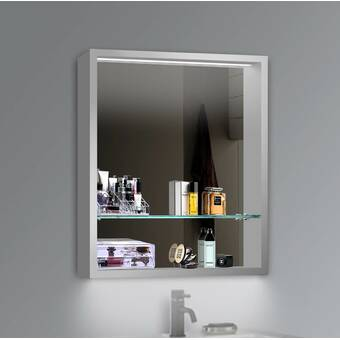 Duravit Surface Mount Or Recessed Frameless 2 Door Medicine Cabinet With Led Lighting Wayfair