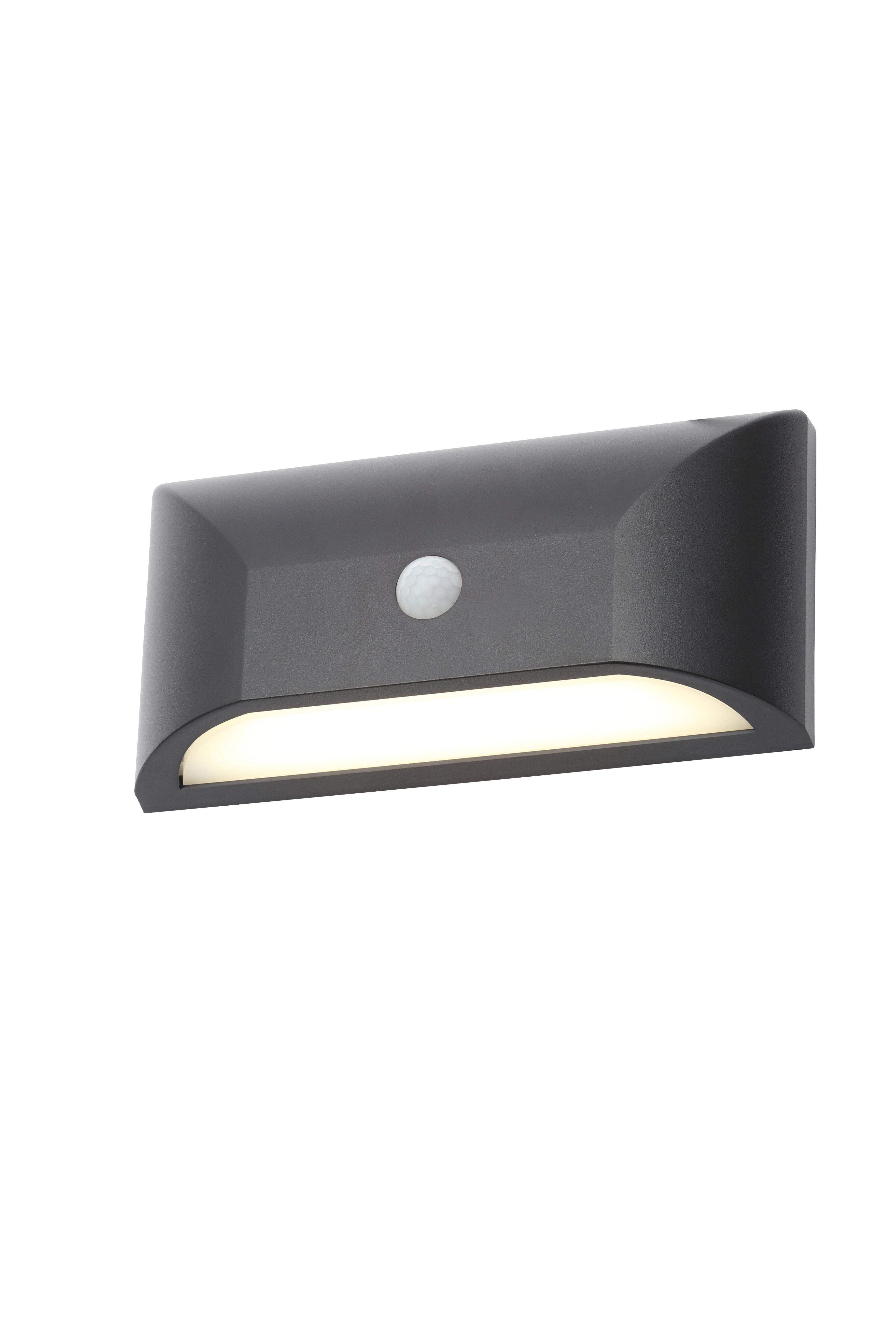Mne Rectangular Led Outdoor Bulkhead Light With Pir Sensor