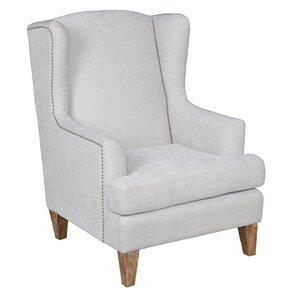 Epine Wingback Chair by One Allium Way