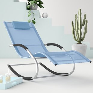 Casarez Sun Lounger With Cushion By Hashtag Home
