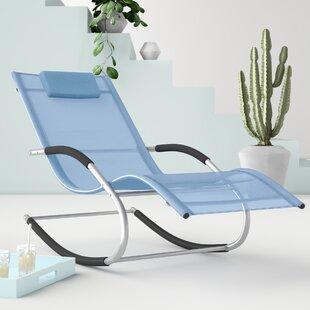 Free Shipping Casarez Sun Lounger With Cushion