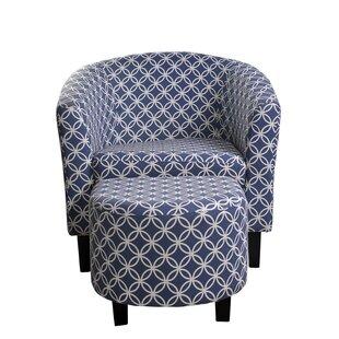 Oversized Chair Ottoman Set | Wayfair