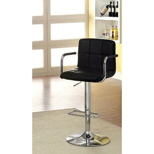 Mendon Adjustable Height Swivel Bar Stool Orren Ellis