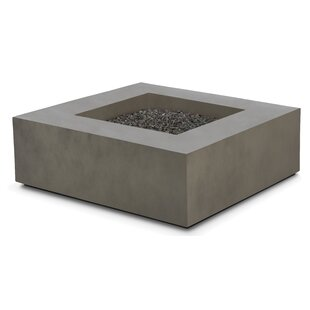 Freeport Park Makala Concrete Propane/Natural Gas Fire Pit Table