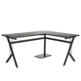 HomCom L-Shaped Desk