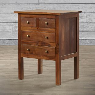 Great deal Hamlin Teak End Table by Loon Peak