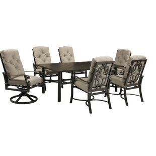 Darby Home Co Mctaggart 7 Piece Dining Set